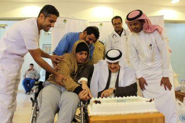 محافظ شقراء يشارك مركز التأهيل الشامل للذكور احتفاليتهم بمناسبة ليوم العالمي للأشخاص ذوي الاعاقة