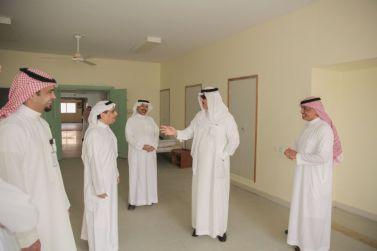 الجولة التفقدية لمحافظ شقراء الاستاذ/ عادل البواردي  للمحاجر الصحية لإدارة الأزمات.