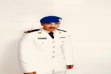"""تخرُّج """" عبدالرحمن الحميد"""" برتبة ملازم"""