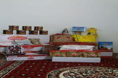 جمعية القصب توزع سلال غذائية طارئة على جميع المستفيدين بمبلغ 100ألف ريال