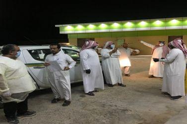 اللجنة المشتركة لدراسة مساكن العمال في محافظة شقراء في جولة تفقدية في مركز الداهنة