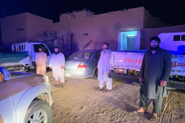 اللجنة المشتركة لدراسة مساكن العمال  في محافظة شقراء في جولة تفقدية في مركز القصب ومركز المشاش