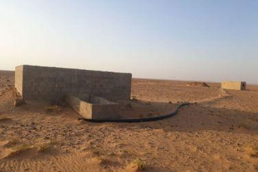 للبيع  مزرعه غرب شقراء شمال محطة سبتيه بصك شرعي لدى إعمار للعقارات