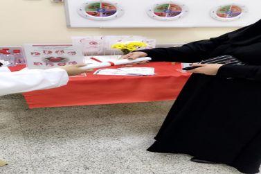 مركز صحي شقراء الثاني يقيم فعالية بعنوان (استخدم القلب لينبض)