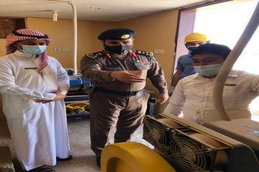 الدفاع المدني في محافظة شقراء ينفذ دورات تدريبية للجهات الحكومية والأهلية