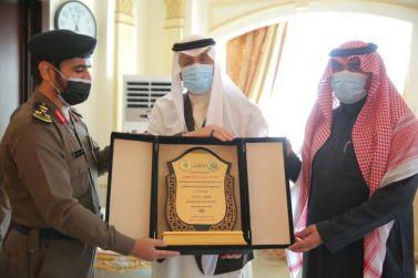 تكريم المتطوعين على أعمال الدفاع المدني بمحافظة شقراء