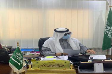 محافظ شقراء يقوم بجولة تفقدية لشعبة مرور محافظة  شقراء