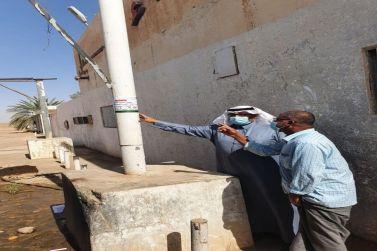 قامت إدارة المياه بمكتب وزارة البيئة والمياه والزراعة بجولة ميدانية على الأشياب بالمحافظة.