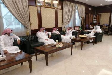 محافظ شقراء يلتقي بمدير عام فرع وزارة النقل بمنطقة الرياض
