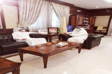 محافظ شقراء يجتمع بالرئيس التنفيذي للتجمع الصحي الثالث بمنطقة الرياض