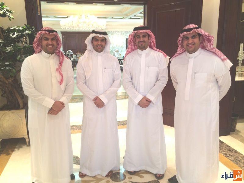 أبناء الشيخ حمد الرقيب ( خالد - زياد - محمد - عبدالرحمن